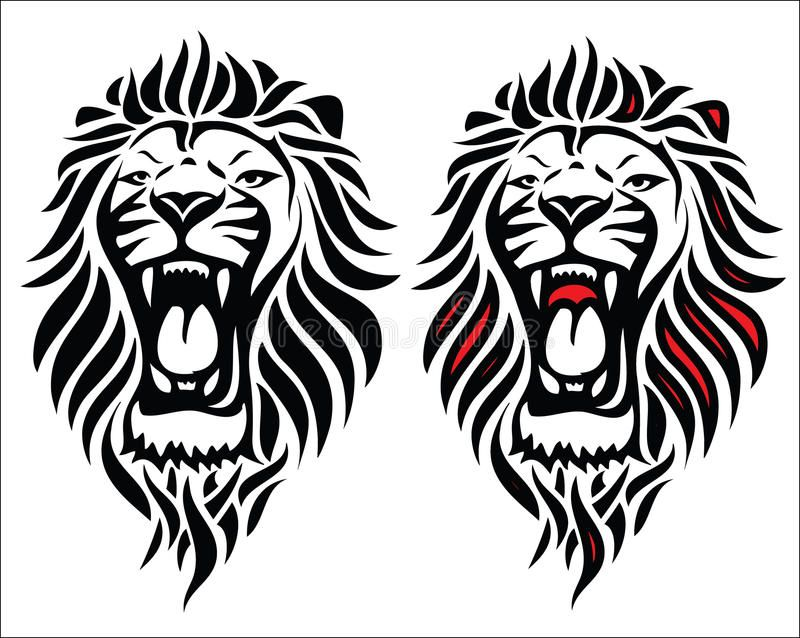 Isolated Tribal Lion Tattoo Vector Illustration Of Lion Head Tattoo Affiliate Lion Tribal Isolated Tribal Lion Tattoo Lion Head Tattoos Tribal Lion