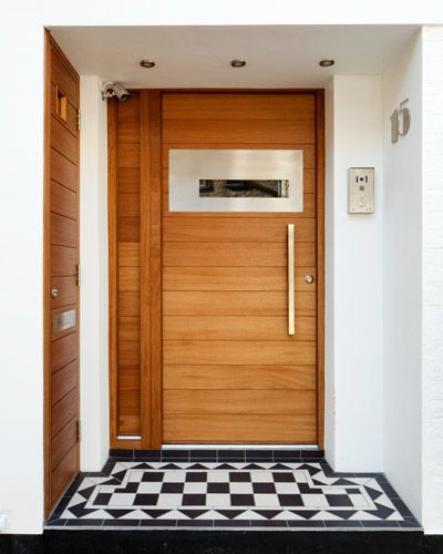 Ferrara front door in iroko, Urban Front