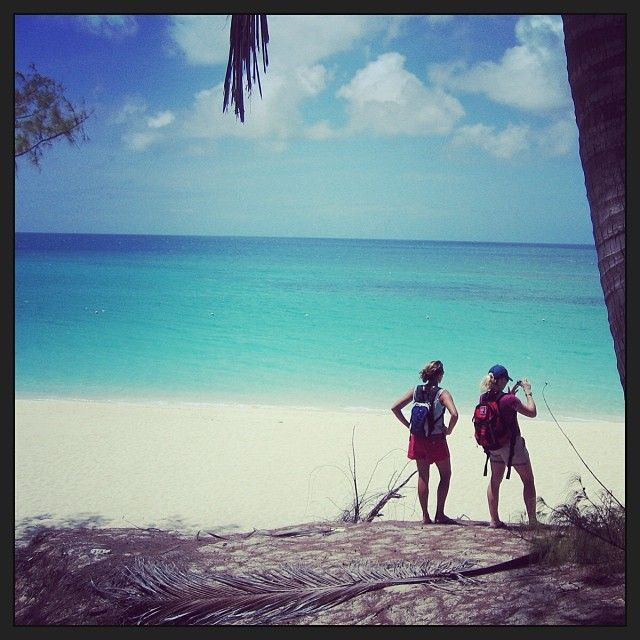 Secluded beach in Nassau. Pure Paradise.
