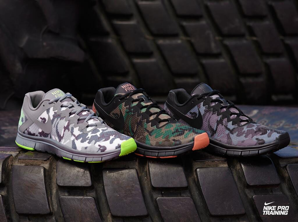 Nike Free Trainer 3.0 - Camo Pack. If G.I. Joes had training shoes, these would be them.