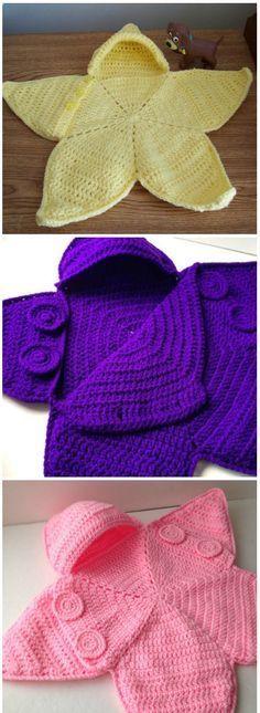 CROCHET BABY BUNTING   Crochet   Pinterest   Tejido, Ganchillo y ...