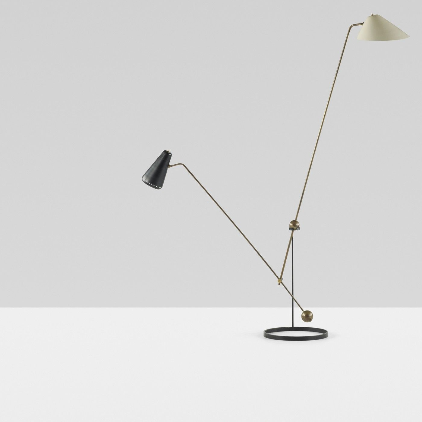 Equilibrium Double Branch Floor Lamp By Pierre Gauriche Float Cool Lighting Lighting Home Decor