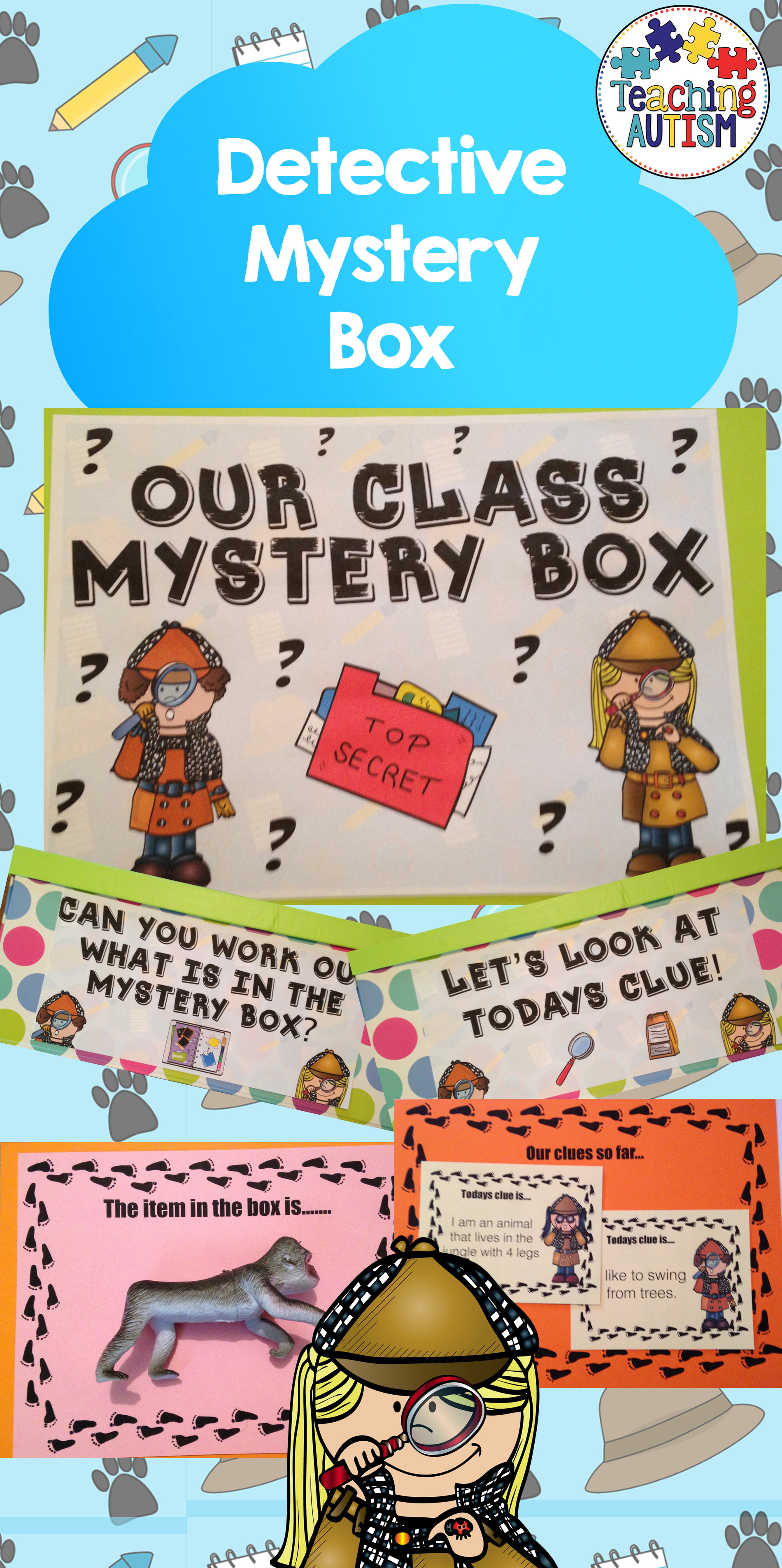 mystery box teaching ideas