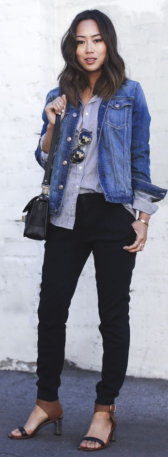 Casual Work Outfit by Song Of style