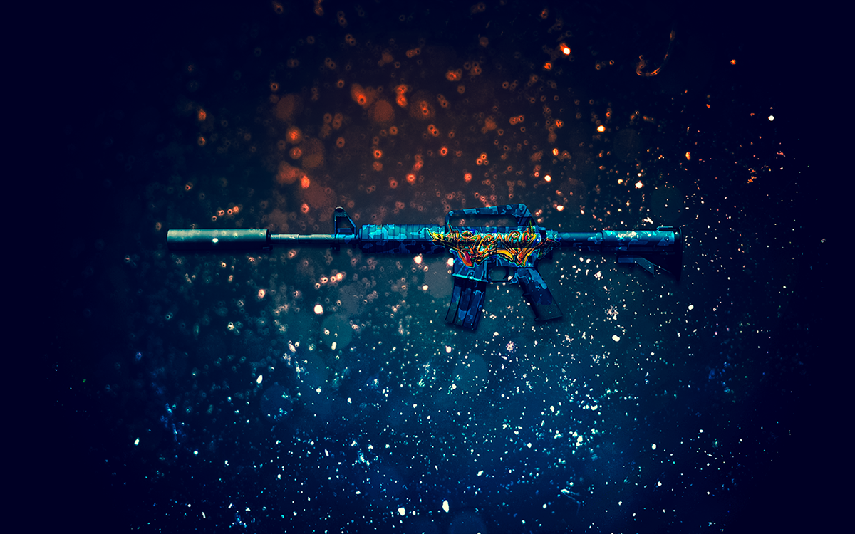 105 Amazing Cs Go Wallpapers Background Images: CS:GO Weapon Skin Wallpapers On Behance