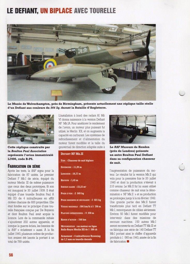 Avions de combats de la 2e Guerre mondiale - Altaya - Fascicule N°28 Defiant NF Mk.IIhttp://maquettes-avions.hautetfort.com/archive/2011/06/18/avions-de-combats-de-la-2e-guerre-mondiale-altaya.html