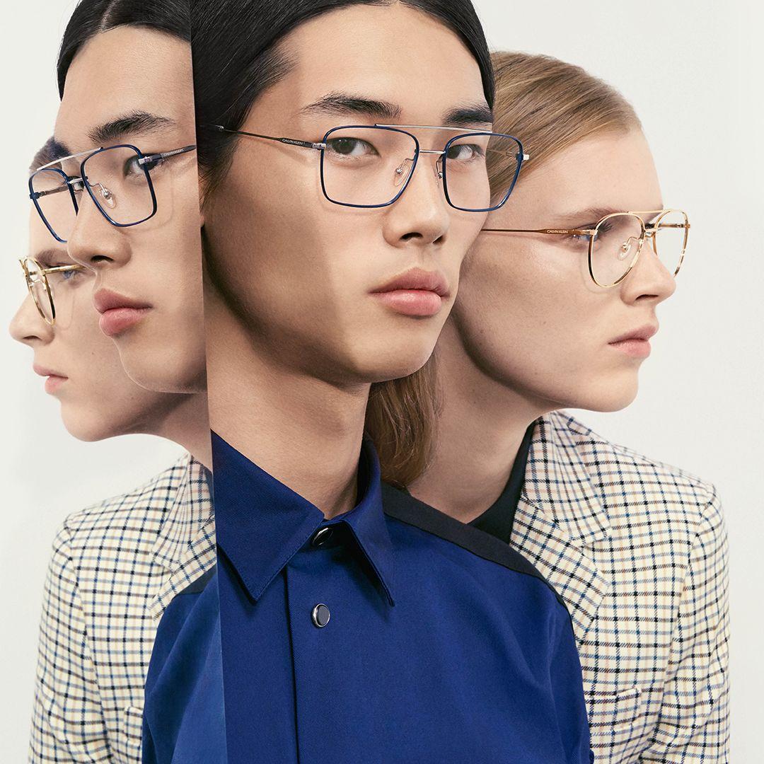 Calvin Klein Eyewear Ss19 Ad Campaign Styles Ck19104 Ck19112 Calvin Klein Glasses Eyewear Campaign Calvin Klein