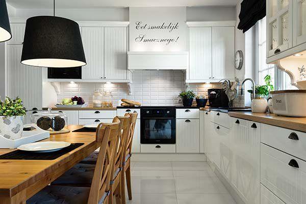 Zdjecie Nr 1 W Galerii Kuchnia W Stylu Skandynawskim Jak Ja Urzadzic Kitchen Dining Room Luxury Kitchens Pretty Kitchen