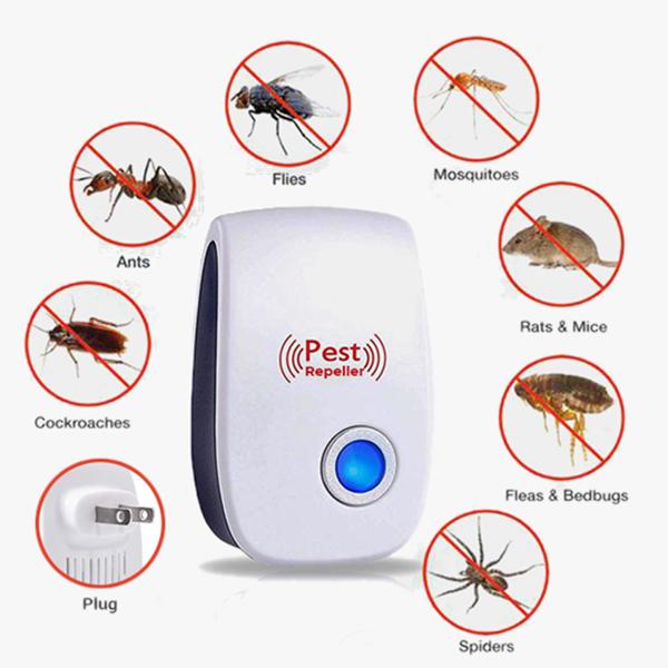 Ultrasonic Electronic Pest Repeller Pest control, Mice