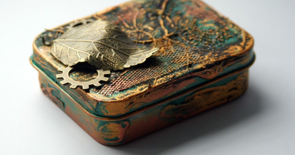 Altered Box by Szymka #decoartprojects