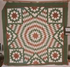 May 2: Unknown, Lone Star  Top By: McCoy, Lucy  Date: 1853  Location Made: United States  Project Name: North Carolina Quilt Project  Contributor: North Carolina Museum of History. http://www.quiltindex.org/basicdisplay.php?kid=4B-82-415
