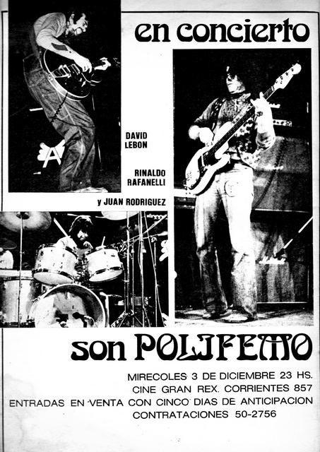 Afiches y Publicidades De Rock Nacional (70-80)  302922f47a49d
