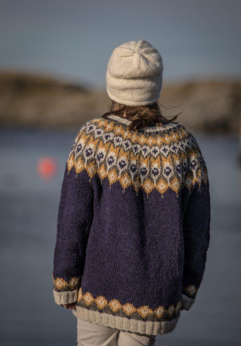 TOMMIE genser Garnmani.no Spesialist på islandsk ull