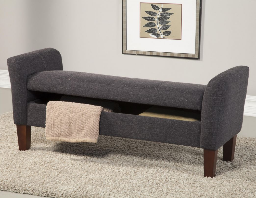 Gray Bedroom Bench Ideas For Decorating A Bedroom Check More At Http Maliceauxmerveilles Storage Bench Bedroom Living Room Bench Upholstered Storage Bench Living room upholstered bench