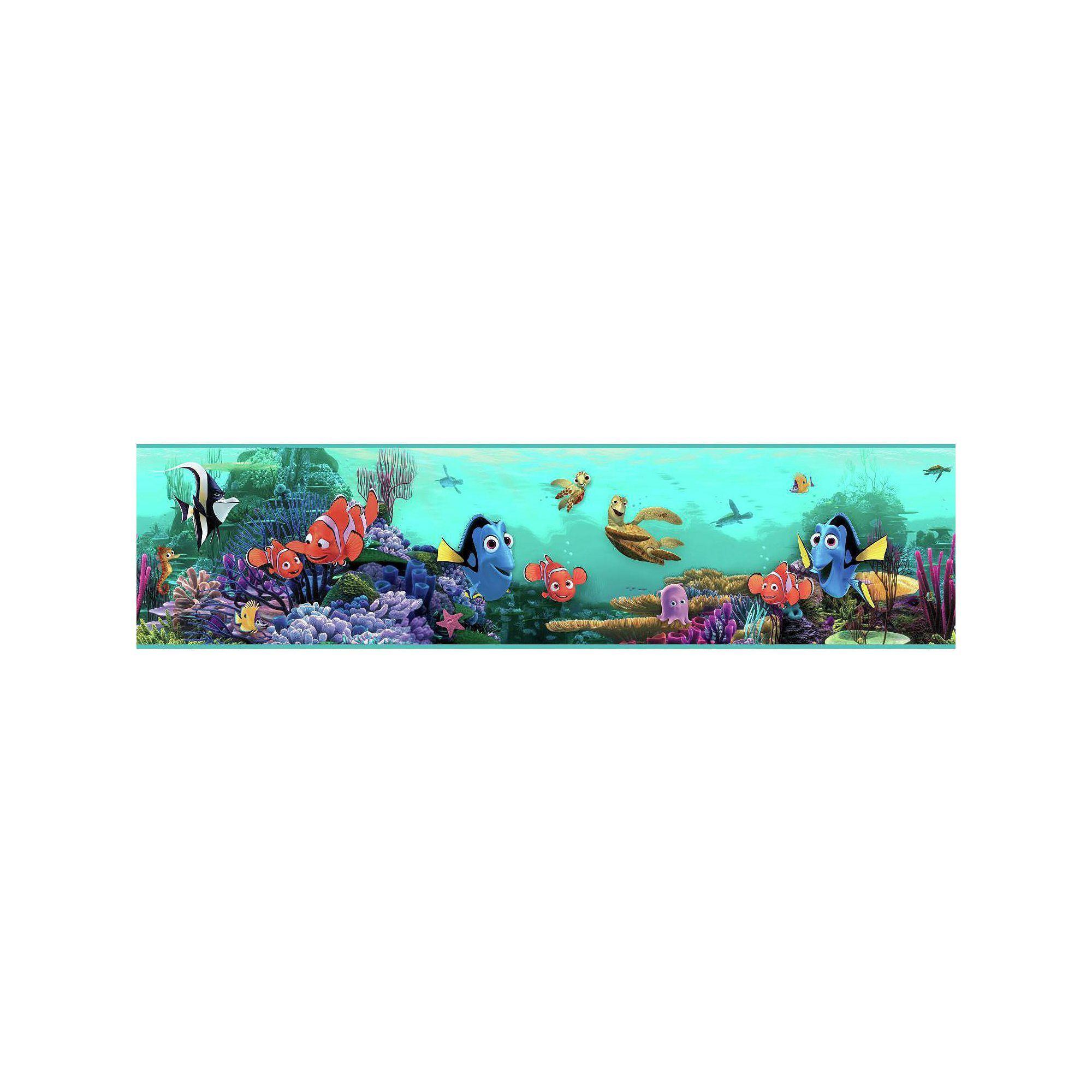 Disney Pixar Finding Nemo Underwater Wall Border Blue
