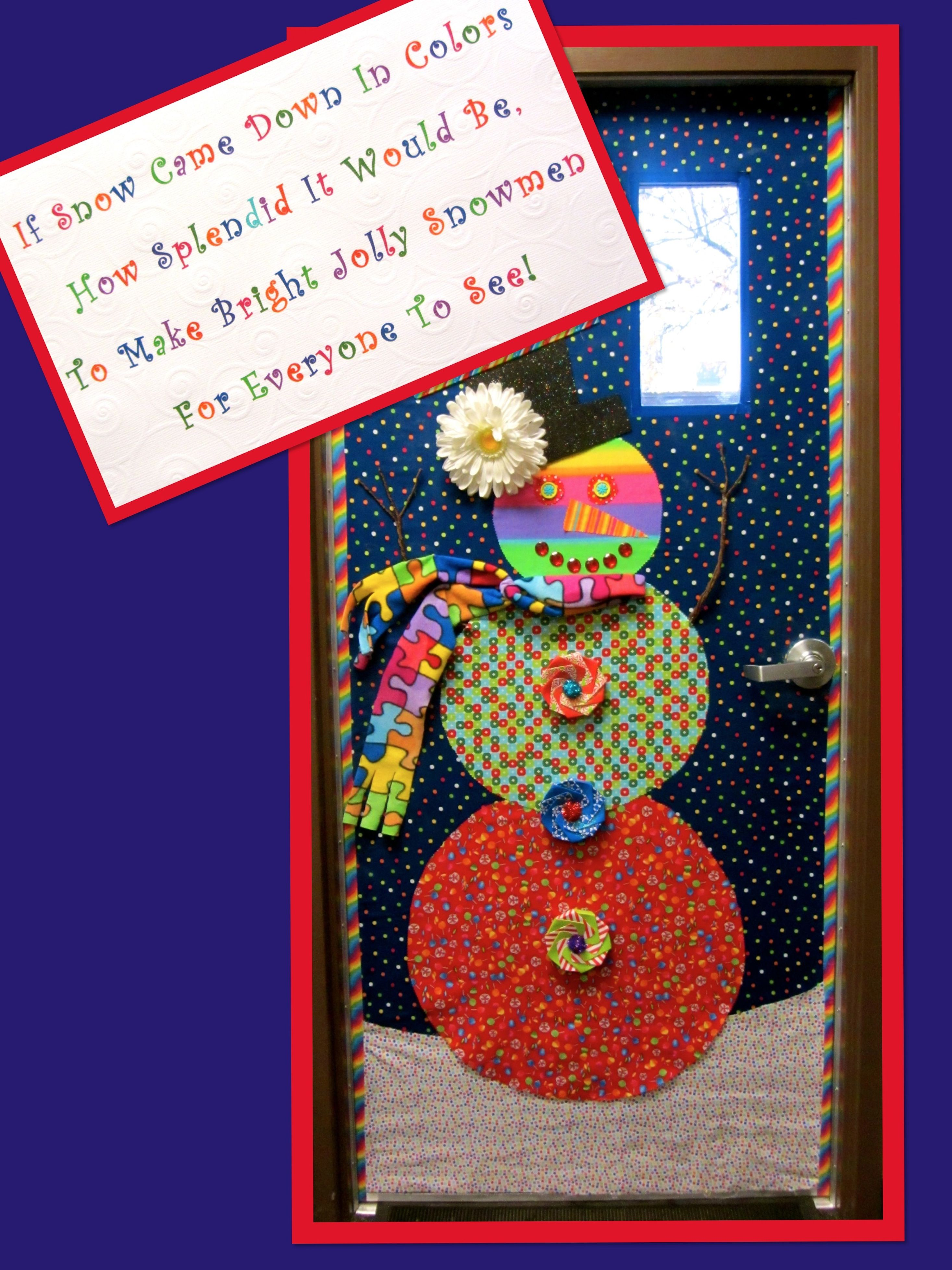 This Is The Door That I Did For Our Autism Classroom I