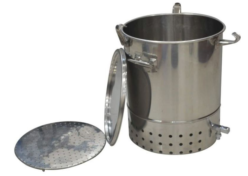 our single indoor deluxe stainless steel bokashi composter includes 1 x 30 litre stainless steel bokashi bin with integrated stainless steel tap