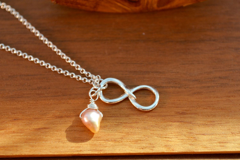 for infinity fullxfull heart grandmother mother and love silver gife braceletgife braceletinterlocking necklace sterling p bracelet interlocking daughter il