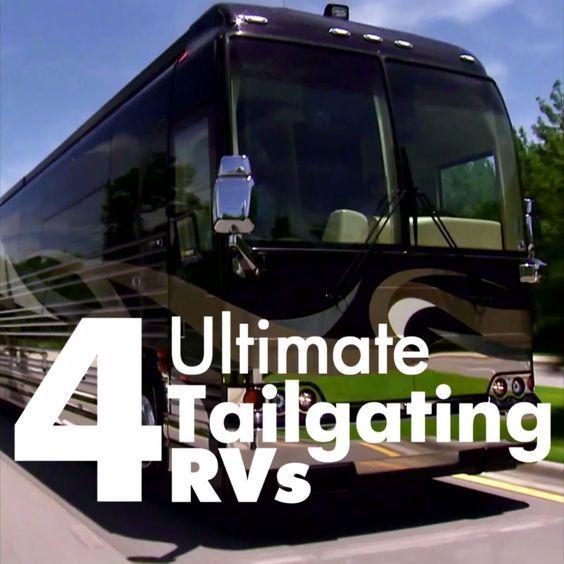 4 Ultimate Tailgating Rvs Rv Solar Power Luxury Yachts Rv Dreams