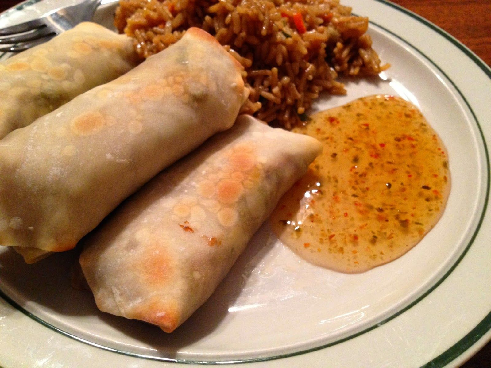 With Love by Jenni: Homemade Baked Egg Rolls Recipe