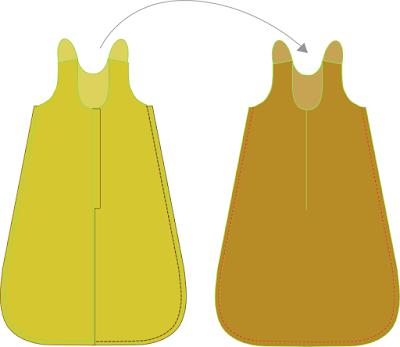 Free sewing pattern baby sleeping bag