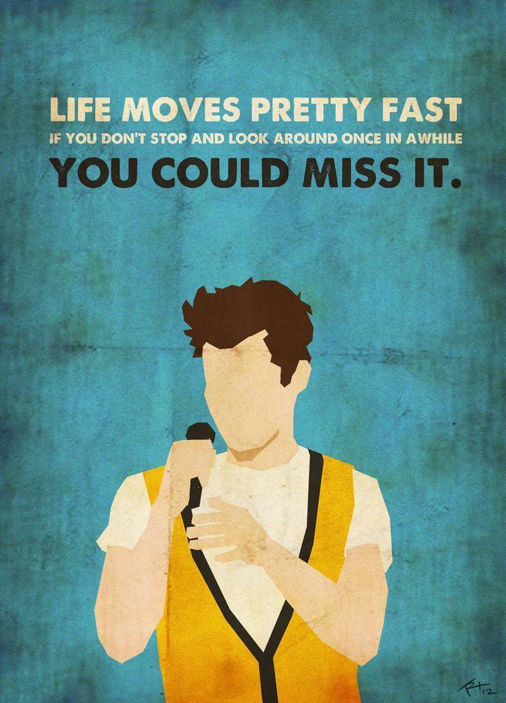 Love Ferris Bueller! #quote #saveferris