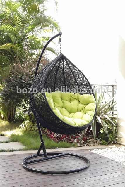 Source Fashion Garden Leisure PE Rattan Indoor Hanging Patio Swing Chair On  M.alibaba.