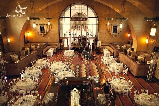 Los Angeles Union Station Engagement Vedding Ideas Wedding