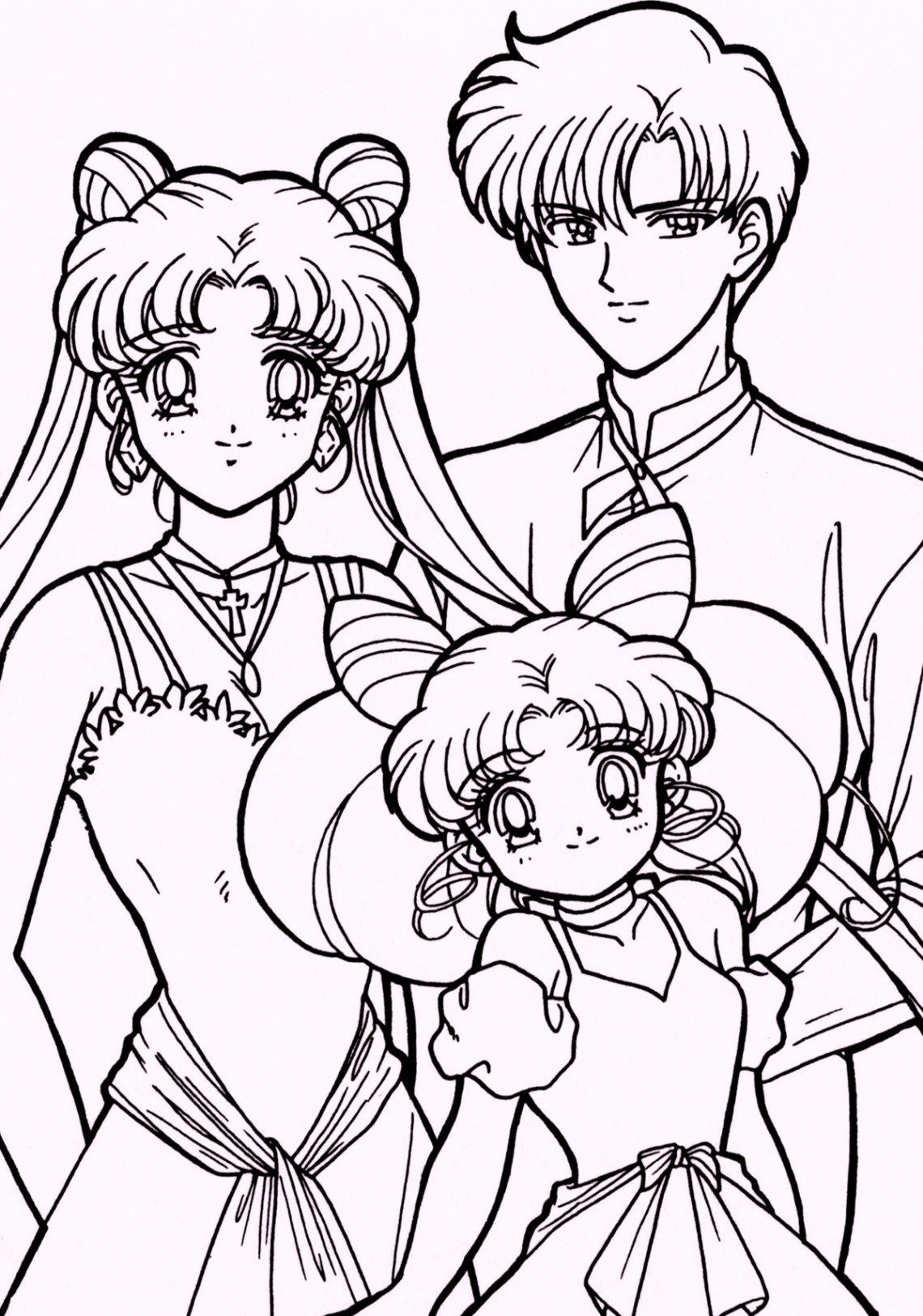 Sailor Moon Coloring 04 With Images Sailor Moon Coloring Pages