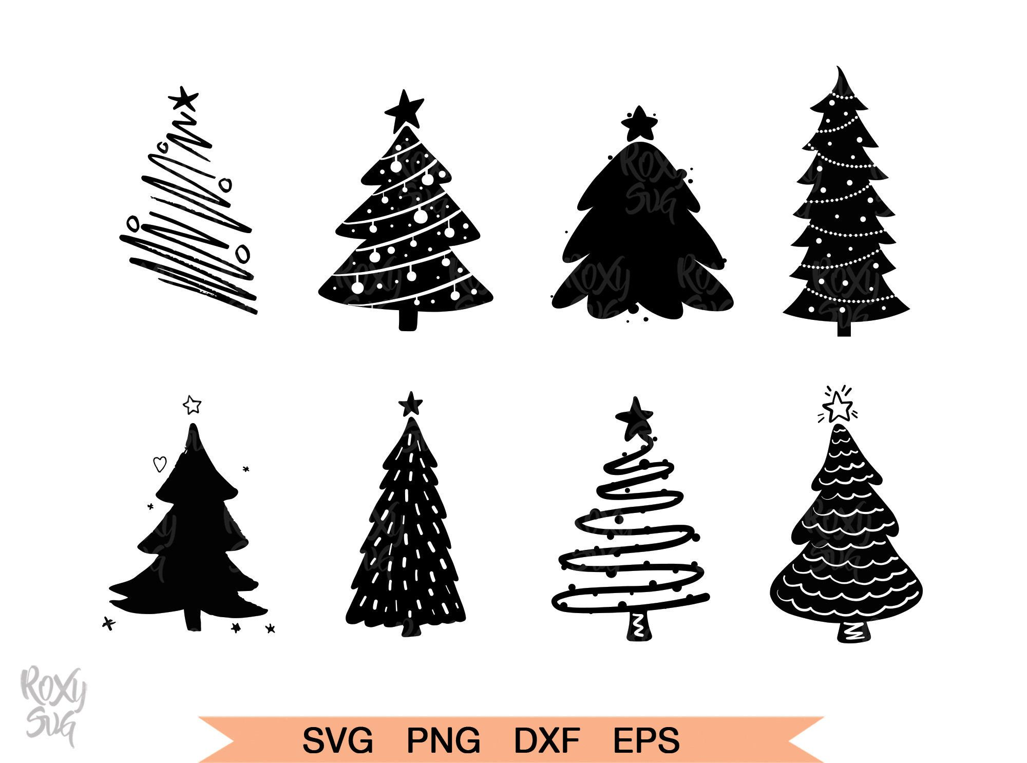Christmas Tree Svg Christmas Svg Christmas Tree Silhouette Etsy In 2020 Christmas Tree Silhouette Christmas Tree Clipart Christmas Svg