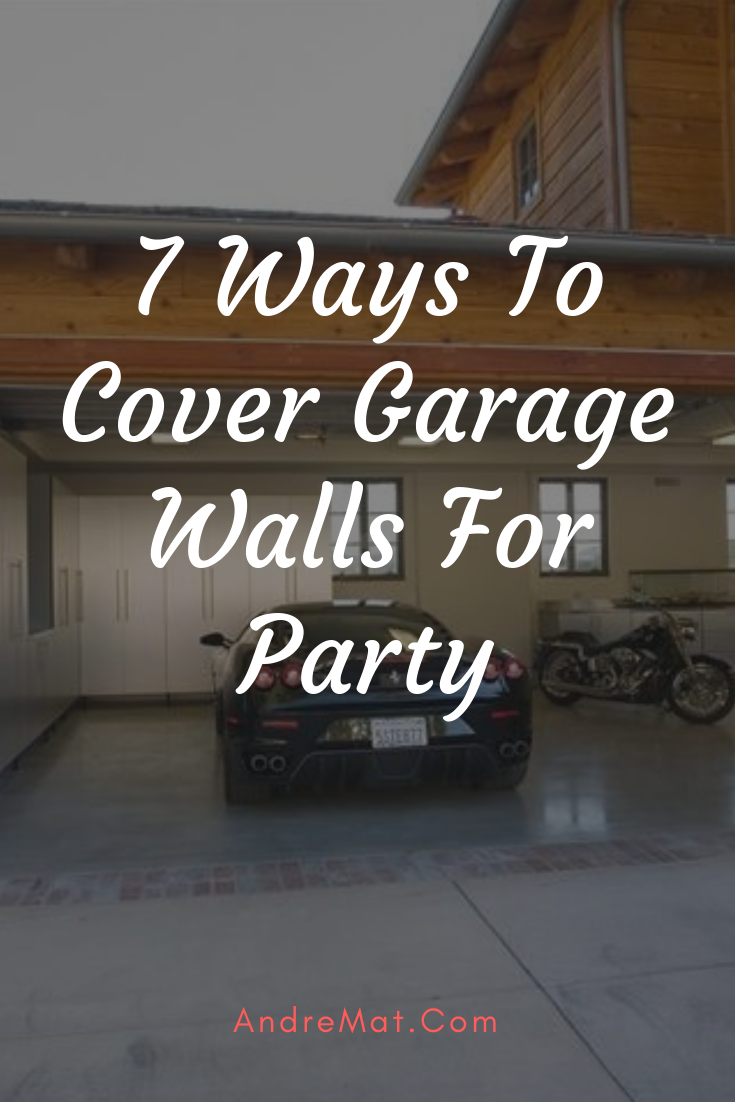 How To Soundproof Garage Walls Garage Soundproof Walls Garage Soundproof Walls Wallsgarage In 2020 Garage Walls Garage Party Garage Party Decorations