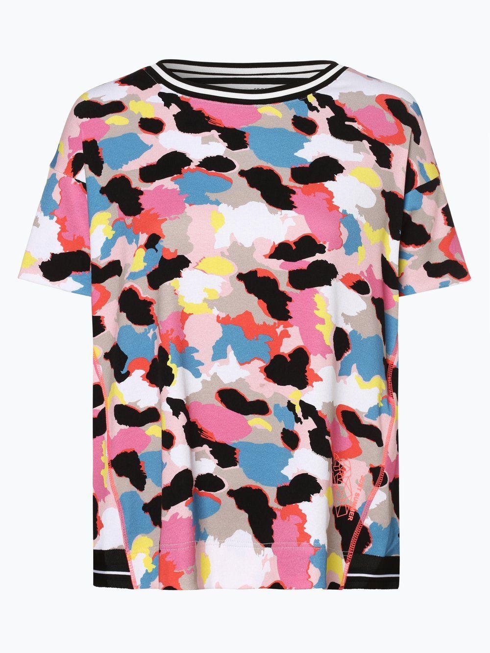 Marc Cain Sports T Shirt Rosa T Shirt Damen Sport T Shirts Und Damen