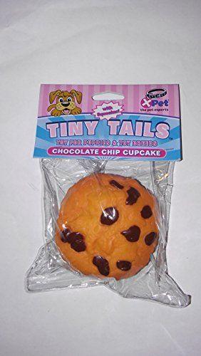 Votoys Tiny Tails Chocolate Chip Cupcake Vinyl Dog Toy More Info