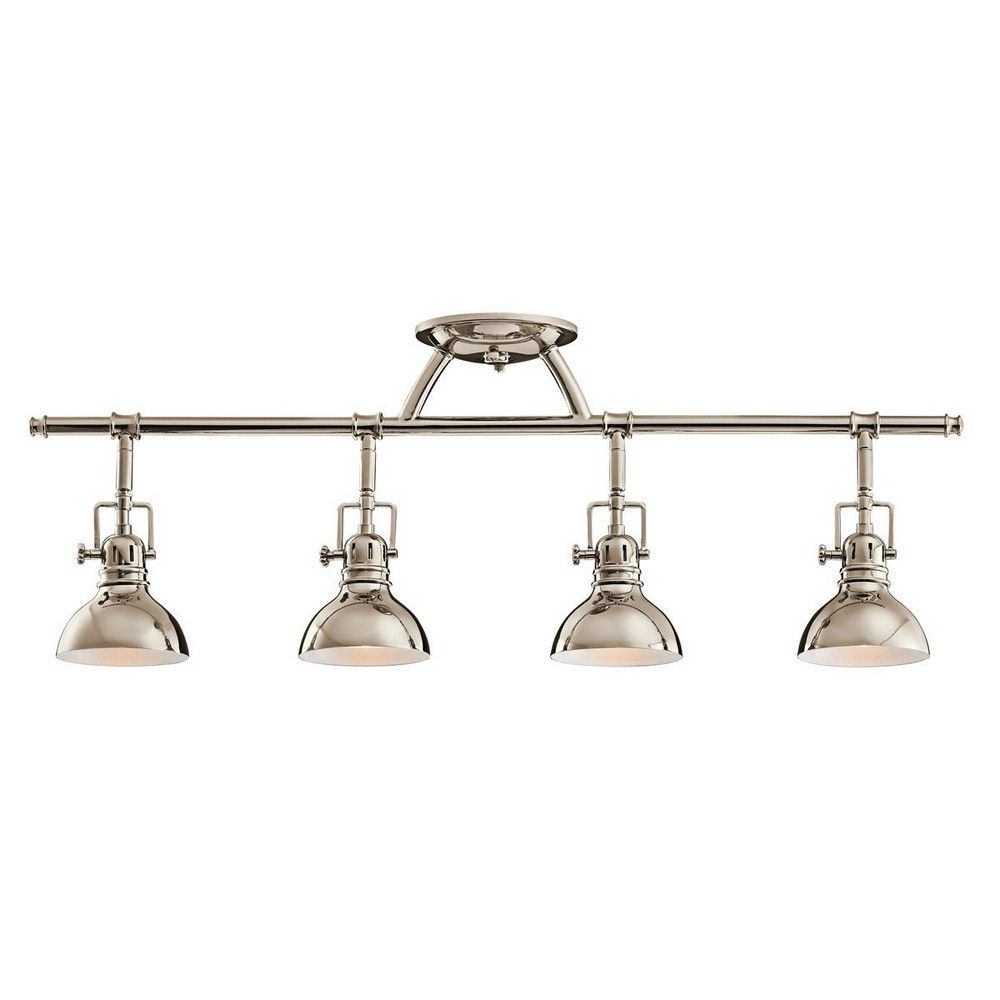 Modern Farmhouse Track Lighting Four Light Fixed Rail In 2019 Kitchen Lighting Kitchen