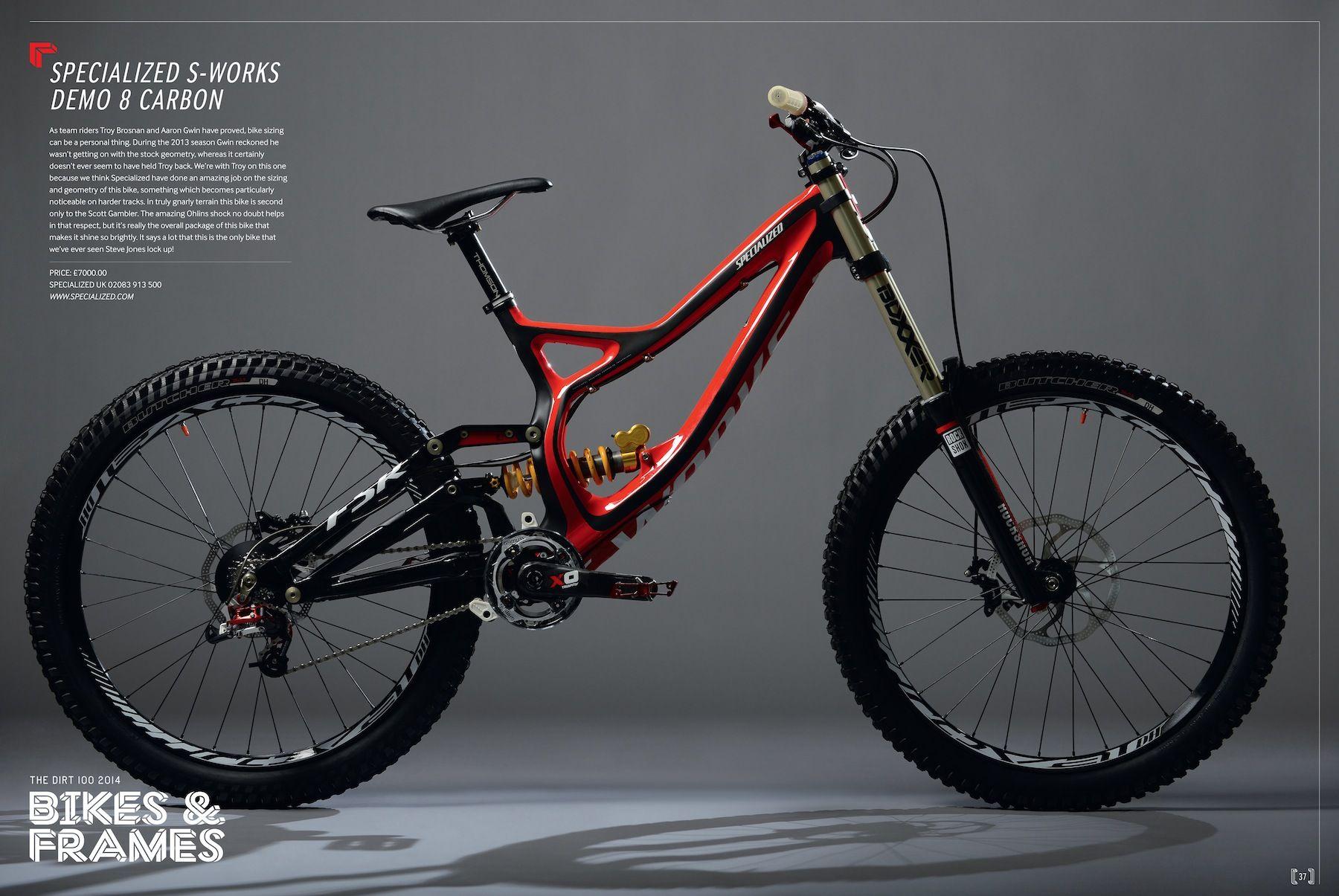 29372efba0c Specialized S-Works Demo 8 Carbon | Mountain biking | Downhill bike ...