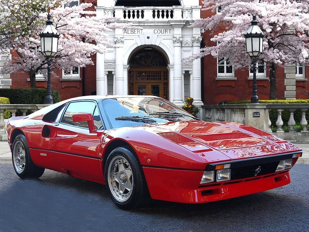 1985 Ferrari 288 Gto Petrol Red Manual Ebay With Images