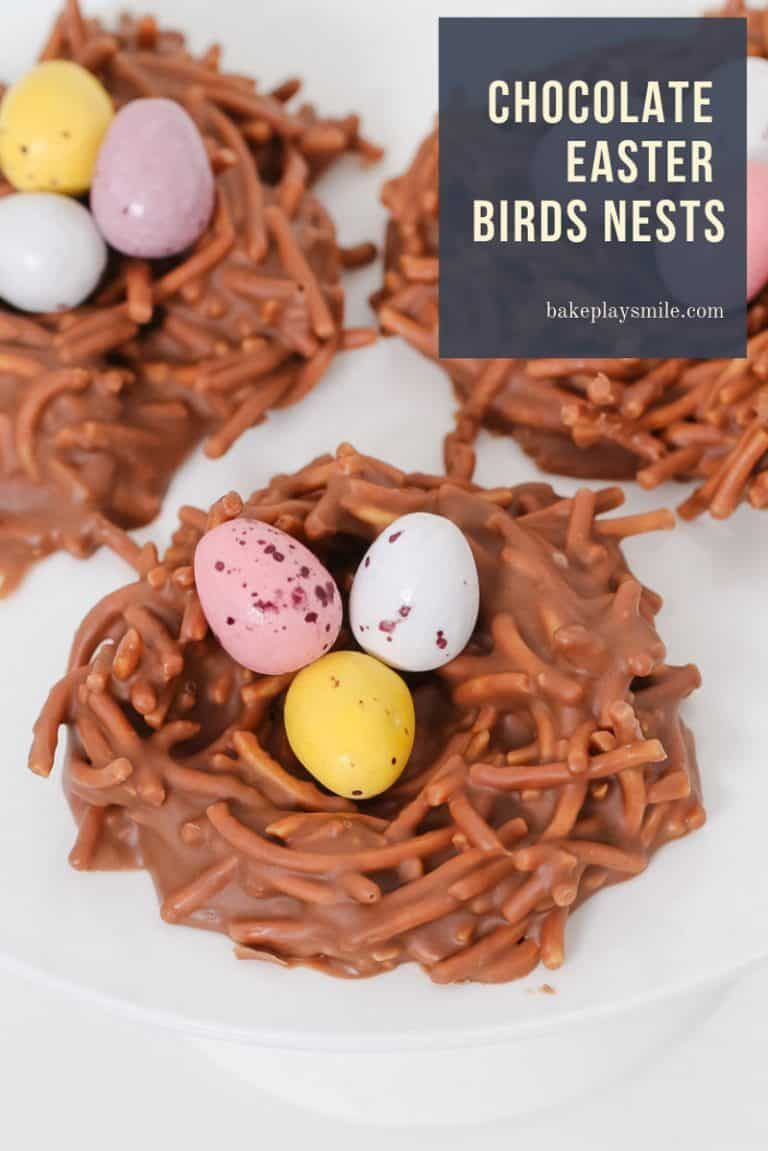 Chocolate Easter Birds Nests Conventional Method