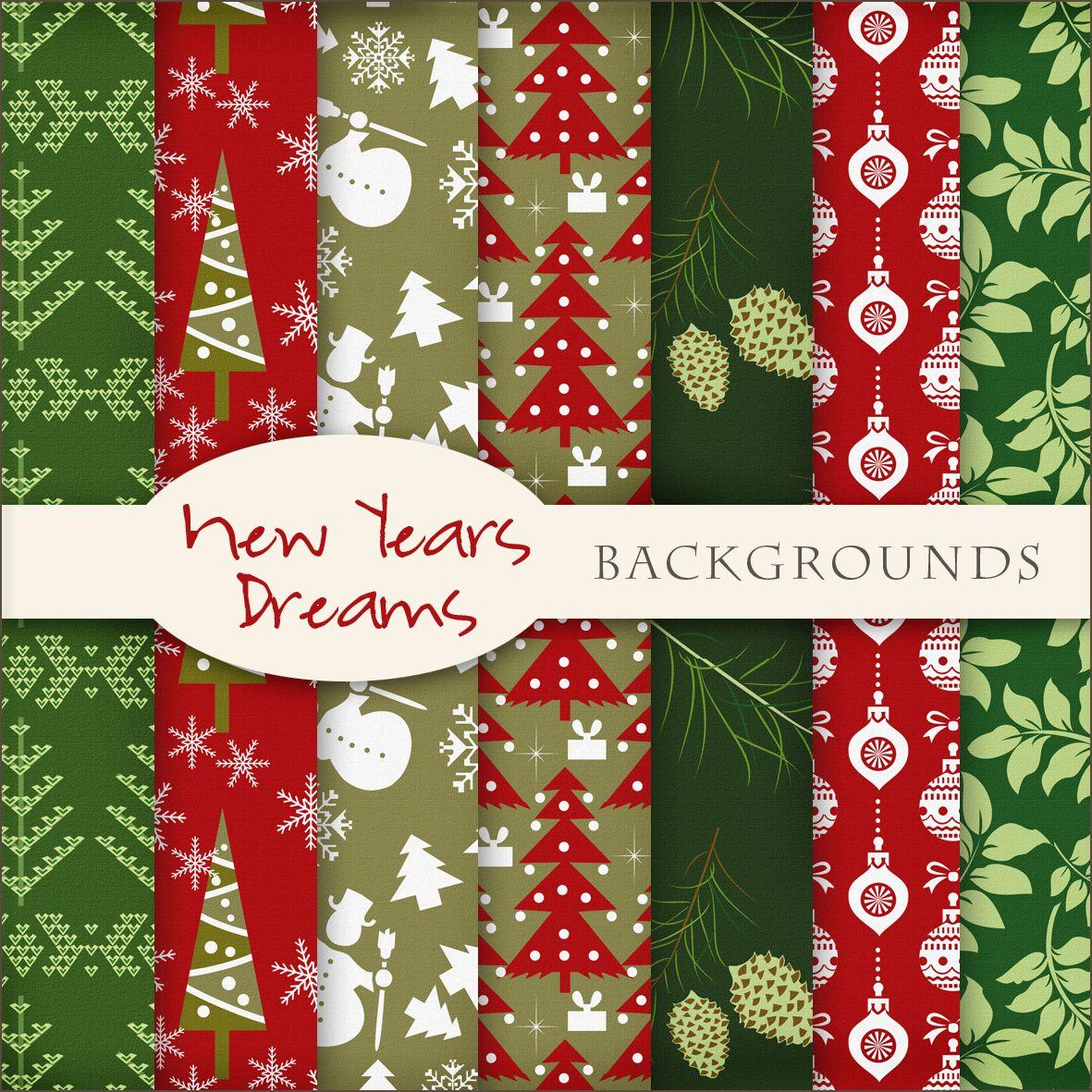 Printable paper backgrounds christmas - Free Printable