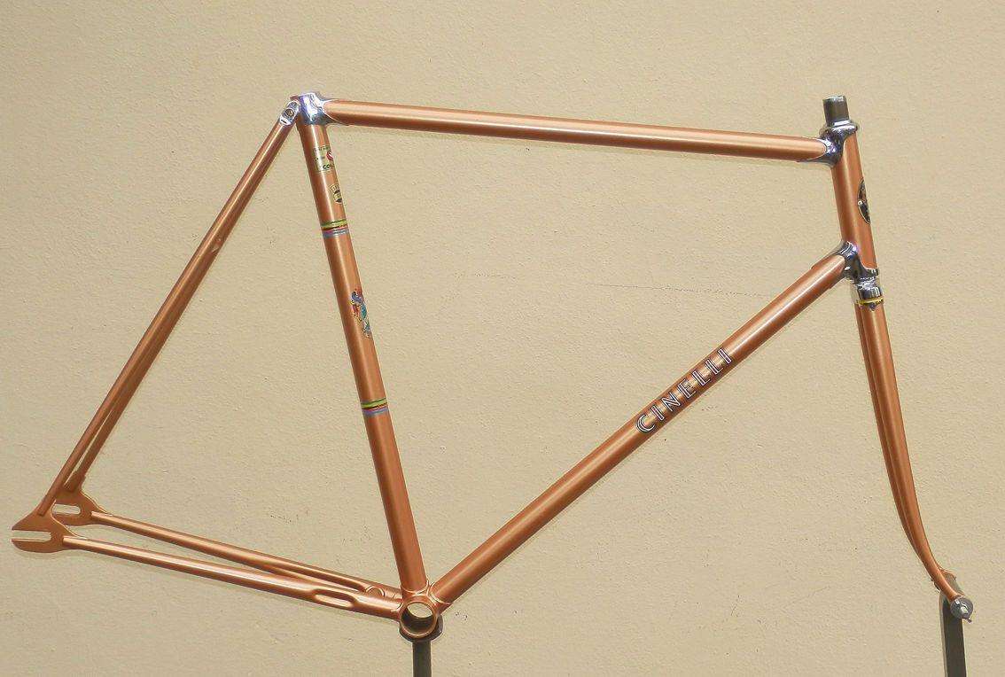 CINELLI SC vintage steel track frame   Steel, Cycling and Vintage