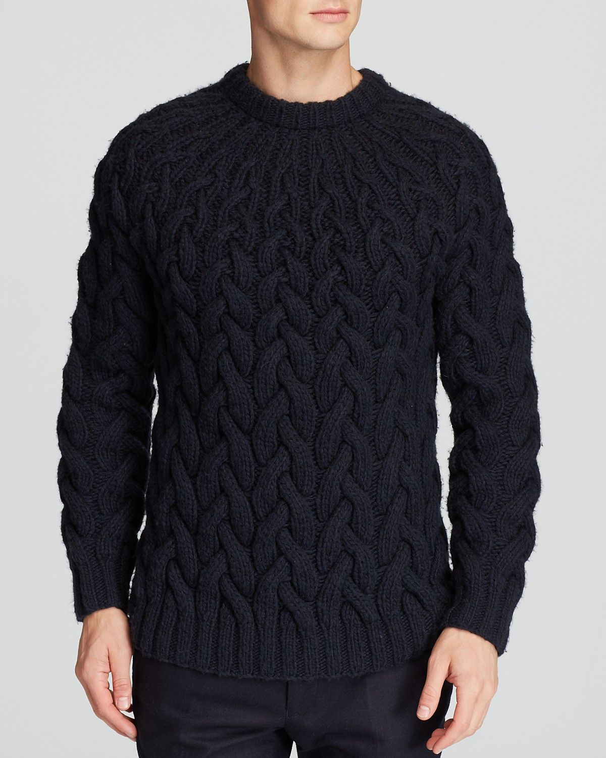 Michael Kors Expanding Cable Knit Sweater Bloomingdale's