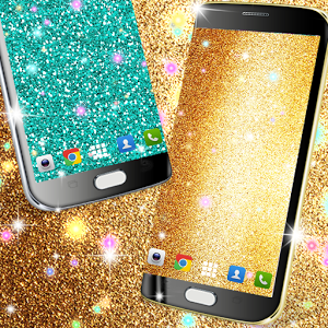 Download Glitter Live Wallpaper Android App Hands Down The
