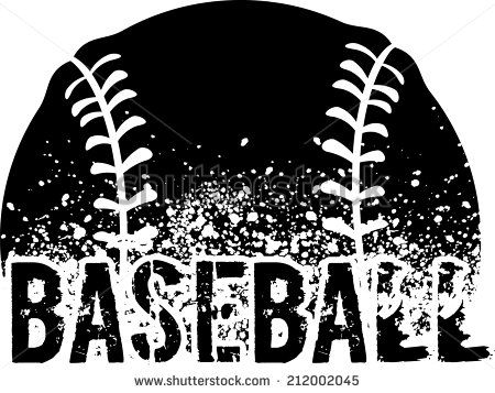 Baseball Clipart Black And White Google Search Softball Clipart Softball Baseball Design