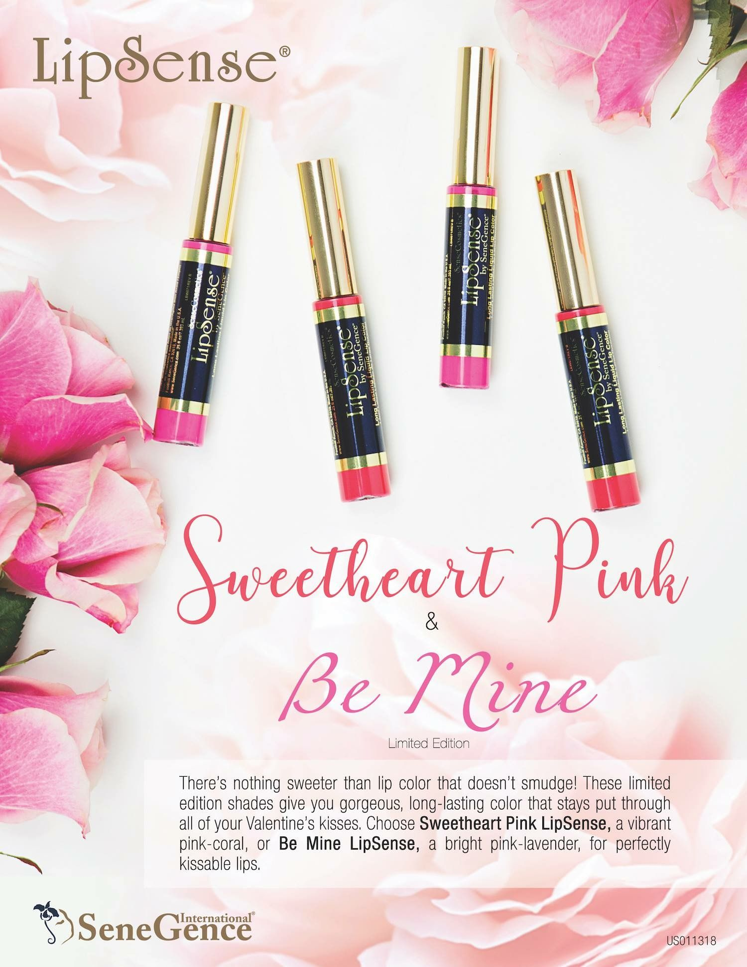 Be Mine & Sweetheart Pink Limited Edition LipSense ️ Love