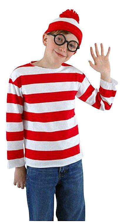 Elope Wheres Waldo Costume Kit - Free Shipping If I Had Kids - mens halloween costume ideas 2013