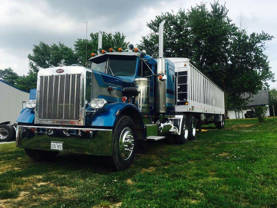 359 Classic Short hood | Peterbilt | Trucks, Peterbilt, Vehicles