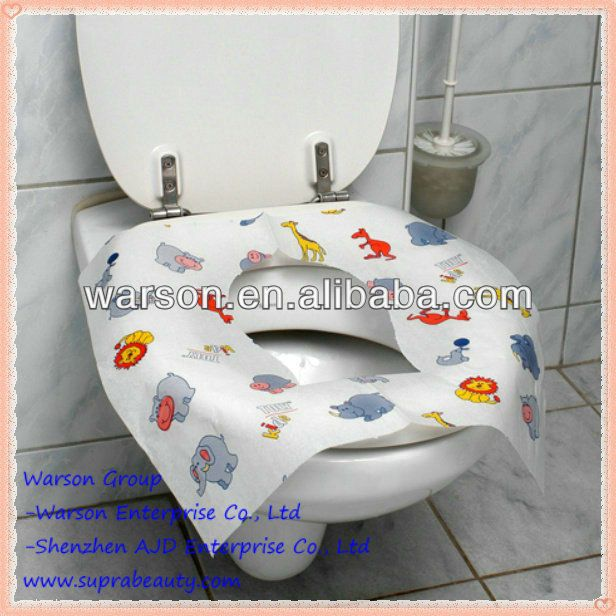 Ajita Lovely Kids Toilet Seat Cover Paper Size 420x360mm 14 16gsm