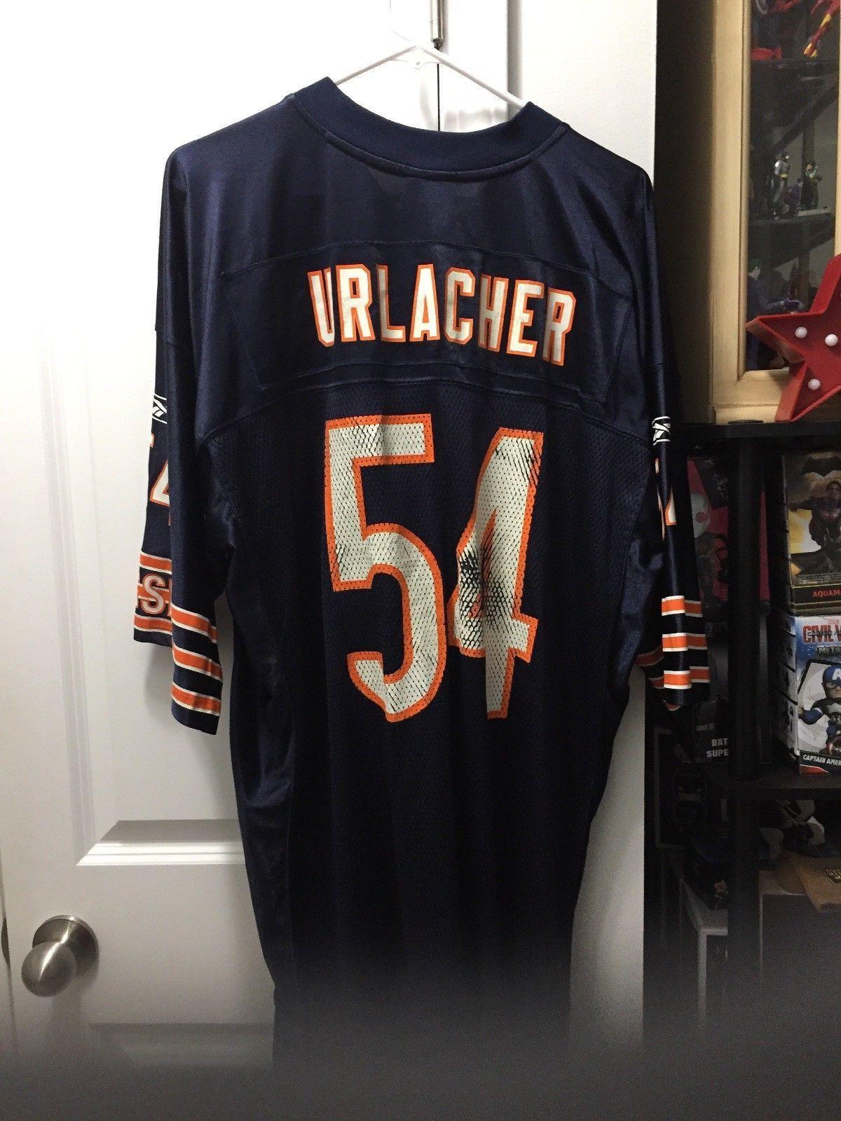 size 40 104a2 de2b0 Chicago Bears NFL - Brian Urlacher GSH (George Stanley Halas ...