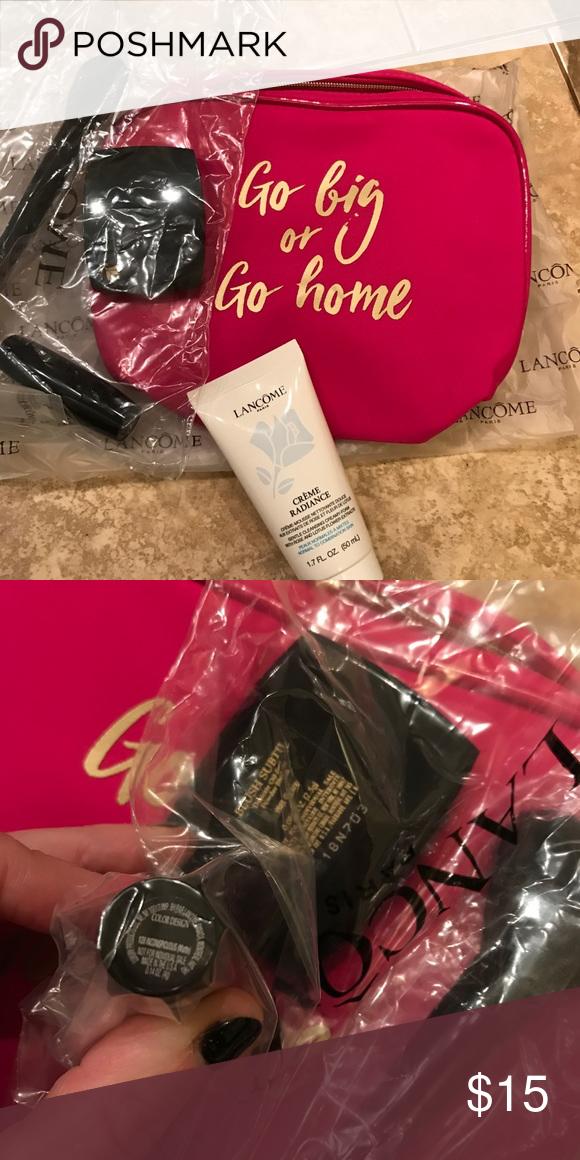Lancôme Travel Set NWT Color design lipstick