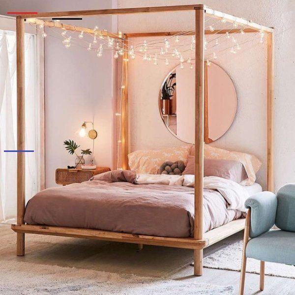 Eva Himmelbett aus Holz Eva Himmelbett aus Holz, #Auß #bedroomlighting #Eva #himmelbett #Holz<br>
