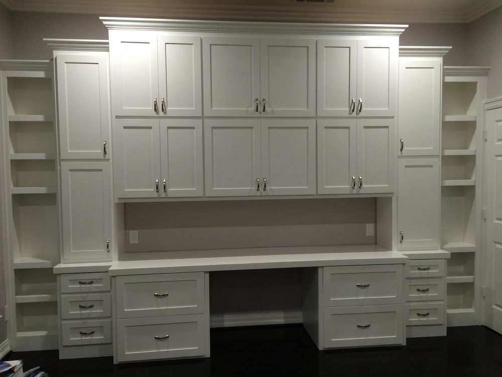 Shaker 3 Tiered Storage Cabinet With Lateral Files Work E And Open Shelves